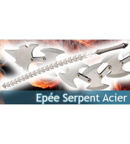 Epée Serpent Acier