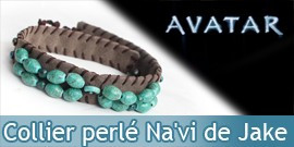 Avatar - Collier perle Na`vi de Jake Sully