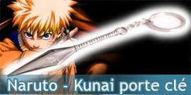 Naruto - Kunai Porte Cle