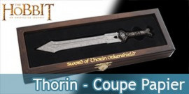 Le Hobbit  - Thorin ouvre-lettres epee naine