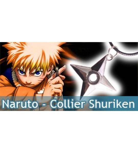Naruto - Collier Shuriken