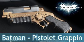 Batman - The Dark Knight - Pistolet grappin