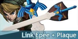 Epée Link + Plaque