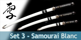 Katana Set 3 - White Edition