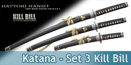 Katana Set 3 - Kill Bill