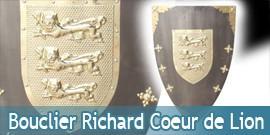 Bouclier Médieval Richard Cœur de Lion