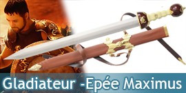 Gladiateur Epée - Glaive Maximus - White Edition
