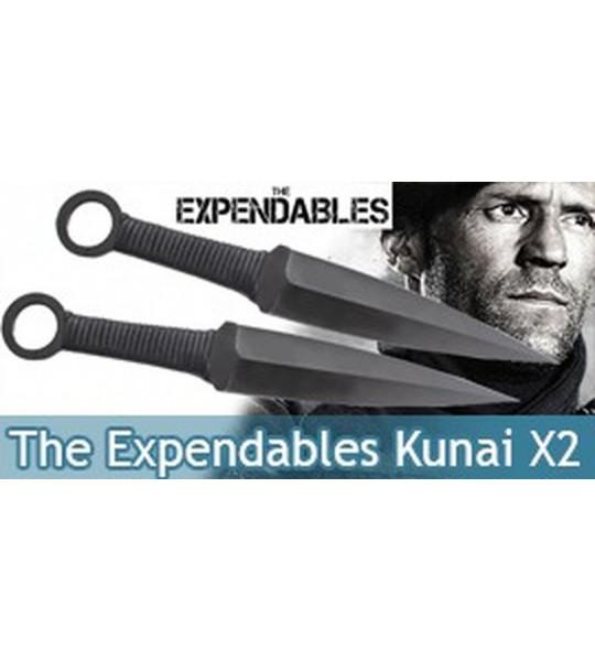 The Expendables Kunai X2