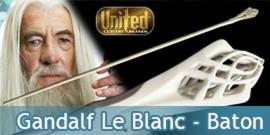 Le Seigneur des Anneaux - Gandalf Le Blanc - Baton