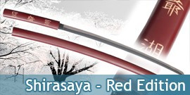 Shirasaya Red Edition Katana