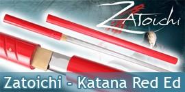 Bushido - Katana Forgé Zatoichi Red - Maru 1045