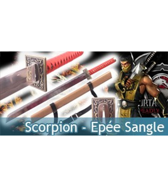 Scorpion - Epée Sangle