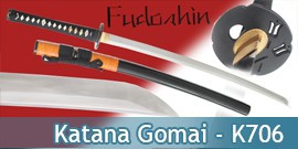 Fudoshin - Katana Forgé Gomai - K706