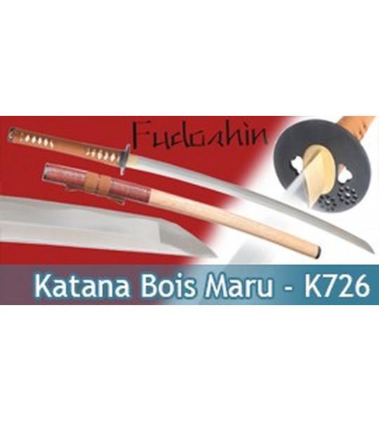 Fudoshin - Katana Forgé Bois Maru - K726