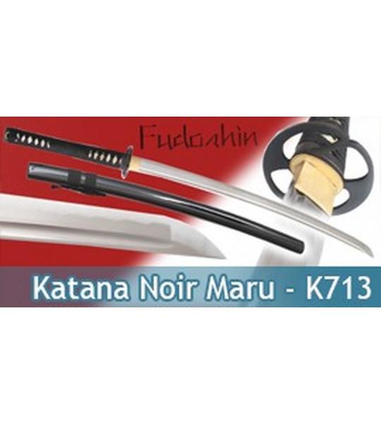 Fudoshin - Katana Forgé Noir Maru - K713