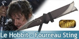 Le Hobbit - Fourreau Sting UC2893
