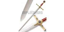 Epée maçonnique - Franc-maçon - Rouge