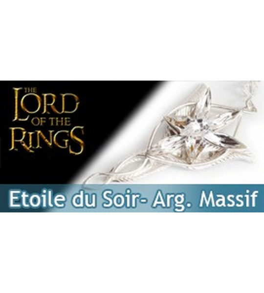 Arwen - Pendentif Etoile du Soir - argent massif