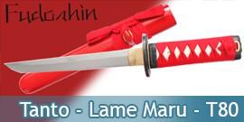 Fudoshin - Tanto - Lame Maru - T80
