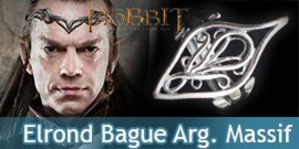 Elf Elrond - Anneau Argent 925ème