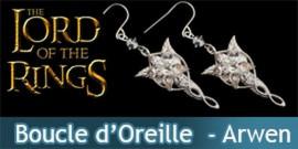 Boucle d'Oreille - Etoile du Soir - Arwen Argent Massif