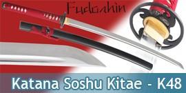 Fudoshin - Katana Forgé Soshu Kitae - K48