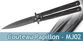 Couteau Papillon - MJ02