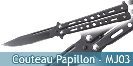 Couteau Papillon - MJ03