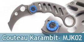 Couteau Karambit - MJK02