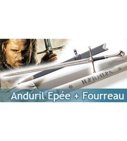 Le Seigneur Des Anneaux - Epée Anduril + Fourreau