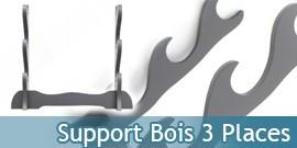 Support bois Katana - 3 places