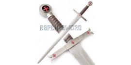 Epée Jacques de Molay / Templier