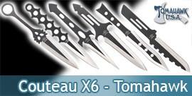 Couteau de Lancer X6 - Tomahawk