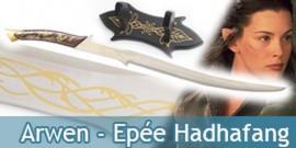 Le Seigneur des Anneaux - Epée Arwen + Plaque