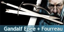 Le Seigneur des Anneaux - Gandalf Epée + Fourreau