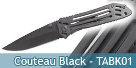 Couteau Black - TABK01