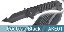 Couteau Black - TAKE02