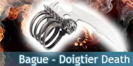 Bague - Doigtier Death - Gothique