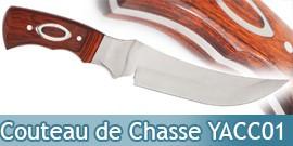 Couteau de Chasse - YACC01