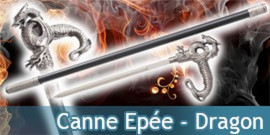 Canne Epée - Dragon