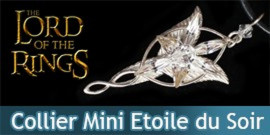 Le Seigneur des Anneaux - Colier Mini Etoile du Soir - Arwen