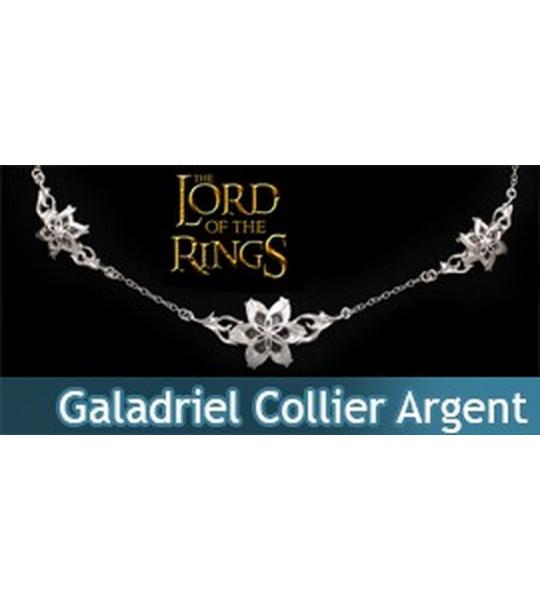 Le Seigneur des Anneaux - Collier Argent Galadriel