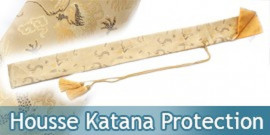 Housse Katana Protection Gold Edition