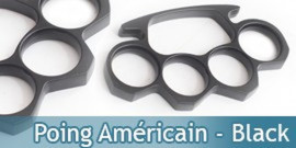 Poing Américain - Black