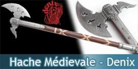 Hache Médievale Allemande - Denix H636