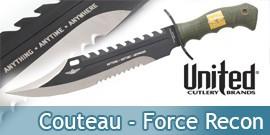 Couteau de Chasse - Force Recon - UC2863