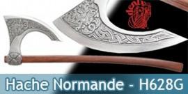 Hache Normand H628G - Hache Médievale - Denix