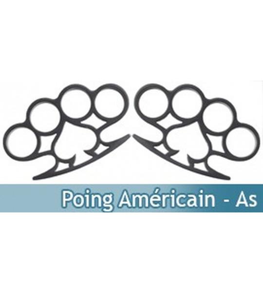 Poing Américain x2 - As de Pique