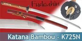 Fudoshin - Katana Forgé Bambou Maru - K725N