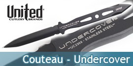 Couteau - Undercover - United Cutlery - UC2969